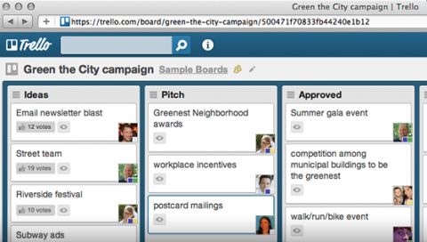 Trello is great for teams collaborating remotely