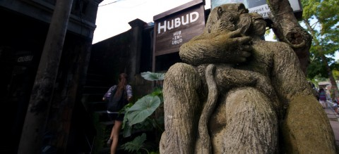 Working at Hubud Co-working Space