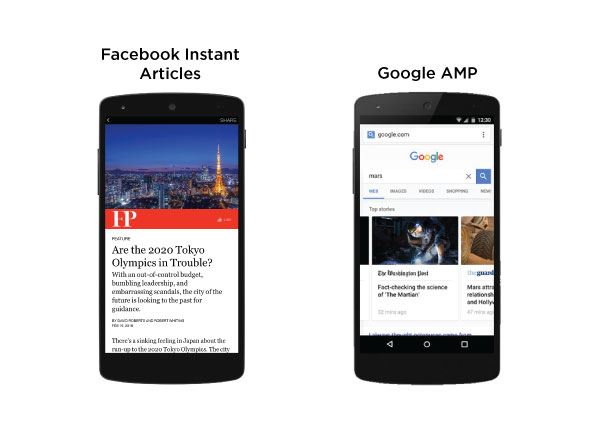 The Future of Mobile Content: Facebook Instant Articles vs