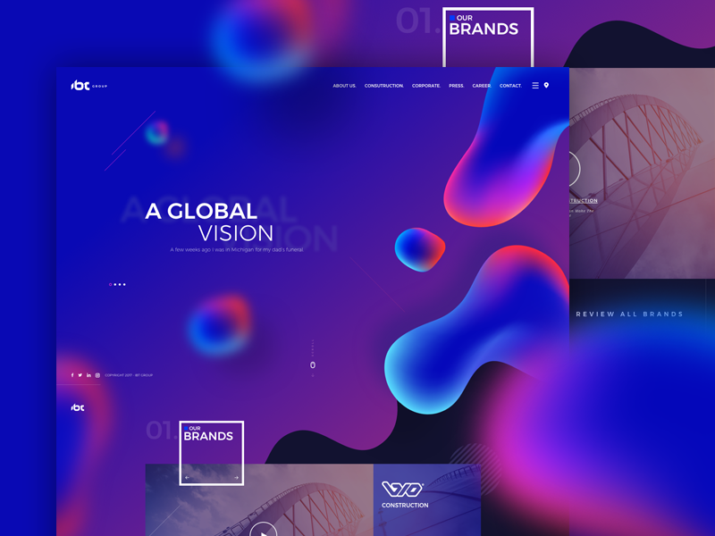 Image result for geometric website design