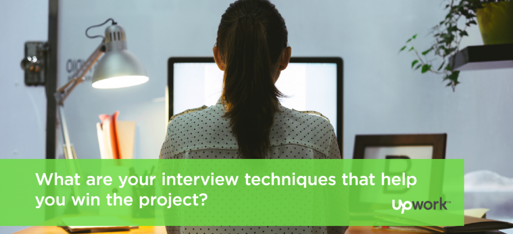 """Tip Tuesday: """"What are your interview techniques that help you win the project?"""""""