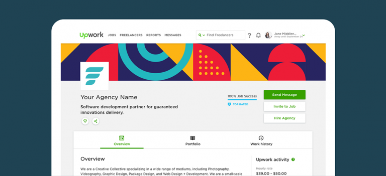 Upwork Helps Agencies Market Their Services with Enhanced Profiles